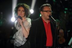Anna Ruttar i Zbigniew Zamachowski