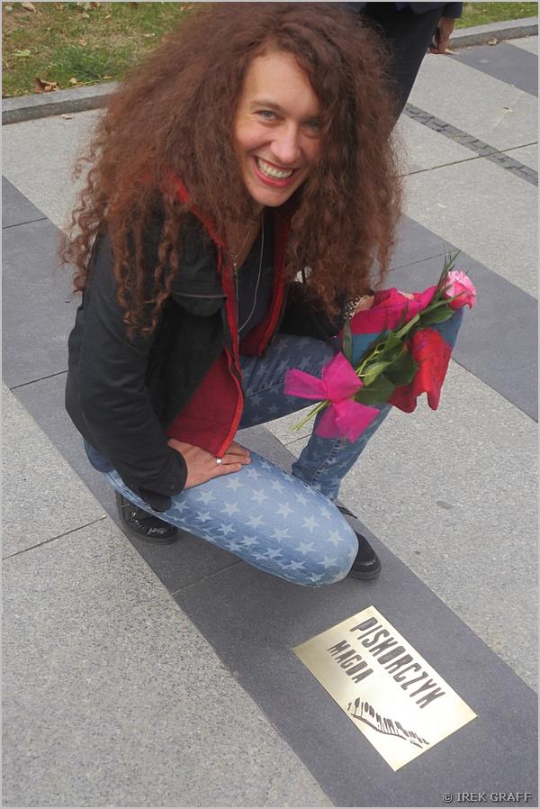 Magda uhonorowana w Bia�ymstoku